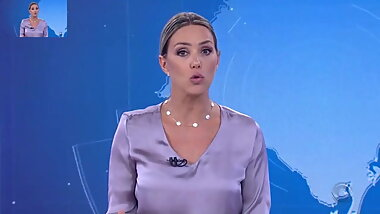 WEATHER GIRL, BRAZILIAN BLONDE MILF
