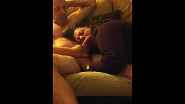 BBW Enjoying/Adoring a big Cock 2