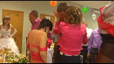 Erotic entertainment at the wedding