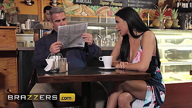 Horny Babe Anissa Kate Teases Her Husband At A Local Coffee Shop