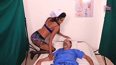 Indian lesbian nurse at home