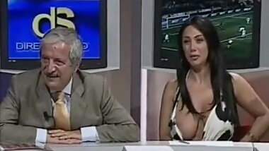 Nip slip in a public tv show