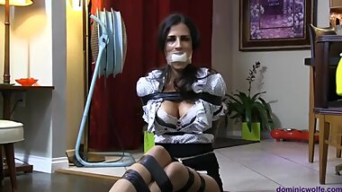 Sofia Bertolini Demands to be Tightly Bound Up